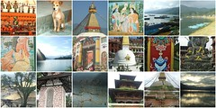 beautiful nepal (belight7) Tags: nepal travel asia buddhist mosaic collage pokhara ktm tansen boudhanath art stupa puppy dog monastery temple shrine lake pashupatinath mandir