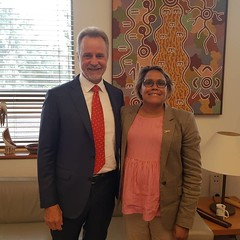 Cathy Freeman, Parliament House Canberra, 13/02/2019
