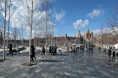 Парк Зарядье (Kirill & K) Tags: город москва парк зарядье кремль март солнечно