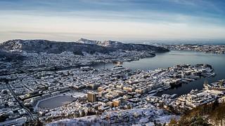 Norway - BERGEN - Buildings-City