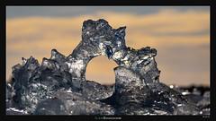 Diamond Ring (Ilan Shacham) Tags: landscape view scenic abstract ice light reflection beauty nature glacier fineart fineartphotography iceland diamond hole diamondbeach jokulsarlon