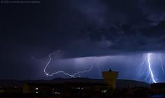 2019.03.24 - 221652 (NIKON D7200) [Amora] (Nuno F. C. Batista) Tags: clouds nuvens amora seixal portugal lusoskies lightning relâmpago thunderstorm trovoada storm night sky nikon severe weather storms photography margem sul skies portuguese meteorology cumulunimbus d7200