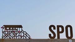 Sankt Peter-Ording (im_fluss) Tags: sanktpeterording nordsee northsea strand beach frühling sand schlösser liebe rostig rusty pfahlhaus himmel sky