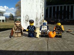 Fig Barf (Sir Glub) Tags: lego figbarf minifig afol scifi starwars photo combos daylight willchapman citizenbrick cb blue outside brickarms
