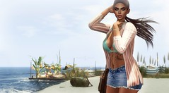 Gabby (VeraCruza) Tags: scandalize vanityevent rama equal10event lelutka fashion secondlife norderney virtualworld sea