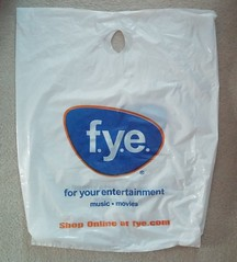 For Your Entertainment (Retail Retell) Tags: fye for your entertainment large shopping bag former memphis store wolfchase galleria tn shelby county retail record vinyl cd dvd music movie media sam goody suncoast motion picture company trans world corporation spin street manifest discs tapes cassettes coconuts tape traders second specs blockbuster memorabilia