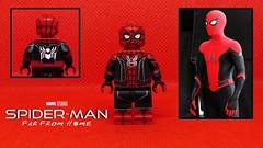 Spider-Man: Far From Home (Wavy Films) Tags: sheild fury nick hydroman mysterio gyllenhal jake farfromhome man spider lego custom films wavy jacobbatalon zendaya jonwatts tomholland