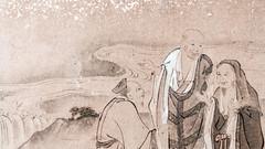 Three Wise Men? (campra) Tags: painting drawing art scroll wada gassho house interior shirakawago shirakawa unesco japan gifuken 岐阜県 白川郷 和田研