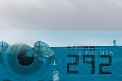 Fliegender Start (maywind72) Tags: bremen doppeltbelichtung farbfilter flughafen fotomarathon luftfahrt mehrfachbelichtung blau