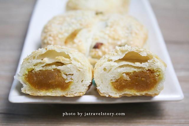 不老燒餅 千層蔥燒餅有特色,蔥肉燒餅蔥香鹹香鮮甜!【捷運中山國中】 @J&A的旅行