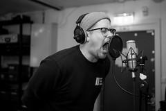 Jompi (morten f) Tags: jompi new hoax hardcore band studio 2019 oslo norge norway singing recording vocals