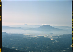 Line of volcanoes (WilliamJosephJefferson) Tags: provia100f pentax80~160 pentax645 film analog art