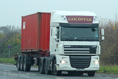 DAF XF Goldstar EU14 PTO (SR Photos Torksey) Tags: transport truck haulage hgv lorry lgv logistics road commercial vehicle freight traffic daf xf goldstar