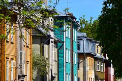 Kalamaja (VisitEstonia) Tags: kalamaja architecture buildings colorful wood wooden house hipster area