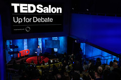 Up for Debate: Talks from TED and Doha Debates (worldnewsnest) Tags: education edchat news dohadebates ted tedhq tedtalks event salon staff highangle wideangle audience logo branding stage stageshot newyork ny usa