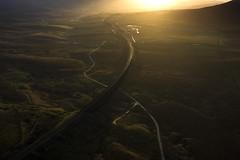 Ribblehead_01 (julesh1966@googlemail.com) Tags: ribbleheadviaduct northyorkshire yorkshiredales sunrise clouds railway landscape grassland ingleborough colour autumn ariel drone