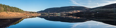 Torside Reservoir panorama (Maria-H) Tags: torside reservoir peakdistrict pennines derbyshire uk olympus omdem1markii panasonic 1235 panorama reflection hills