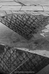 Reflet (David-photopixel-bzz) Tags: france paris lelouvre louvre pyramide architecture reflet louvrepyramide