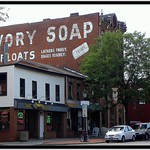 Brockport  New York  - Ivory Soap - Ghost Sign thumbnail