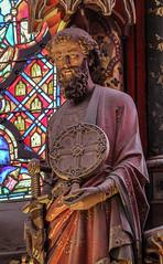 Saint Paul (Lawrence OP) Tags: paul saints saintechapelle paris sculpture sword statue apostles