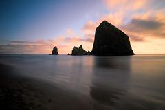 Thick with mystery (Jim Nix / Nomadic Pursuits) Tags: jimnix nomadicpursuits oregon sony sonya7ii coastline seascape travel topazstudio sunset haystackrock cannonbeach coastal pacificocean pacificnorthwest pacnw