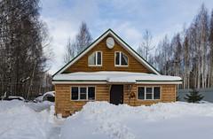 Cottage in the forest / Домик в лесу (dmilokt) Tags: природа nature пейзаж landscape лес forest дерево tree снег snow dmilokt nikon d850
