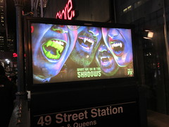 What We Do in the Shadows Billboard Poster Ad 2706 (Brechtbug) Tags: what we do shadows billboard poster ad over subway entrance american comedy horror television series fx march 27th 2019 channel starring kayvan novak matt berry natasia demetriou harvey guillen based 2014 film by jemaine clement taika waititi about three vampires who have been roommates for hundreds years ads advertisement tv show