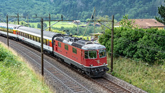SBB Re 4'4 2 11127 Erstfeld 07 July 2015 (BaggieWeave) Tags: switzerland swiss erstfeld uri gotthard swisstrains swissrailways sbb cff ffs re44 gotthardrailway gotthardbahn