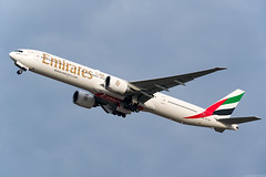 A6-ENC (Andras Regos) Tags: aviation aircraft plane fly airport bud lhbp spotter spotting takeoff emirates boeing 777