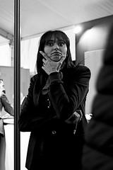 Doubtful (lesphotosdepatrick) Tags: x100f fujifilm streetphotography blackandwhite monochrome lesphotosdepatrick candidshot