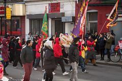 Enter the dragon. (kuntheaprum) Tags: chinatownboston chinesenewyearcelebration yearofthepig sony a7riii tamron 2470mm f28 festival parade dragon firework