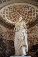 Athena – La Pallas de Velletri (sarowen) Tags: thelouvre louvremuseum muséedulouvre paris parisfrance france athena–lapallasdevelletri athena