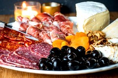 How to Make a Charcuterie Board Final 1 (Jossy D) Tags: charcuterie board meat cheese salami proscuitto olives walnuts apricots breadsticks