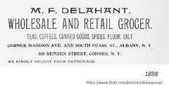 1898 delehant Market/grocery - madison and south pearl (albany group archive) Tags: 1890s old albany ny vintage photos picture photo photograph history historic historical