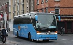 First (Aircoach) 24036C36 (04D22822). (Fred Dean Jnr) Tags: firstgroup first setra 24036 c36 04d22822 parnellstreetdublin november2013 aircoach kassbohrer s415hd