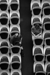 not fully booked (shanahands2) Tags: ferry seats passengers blackandwhite sydney