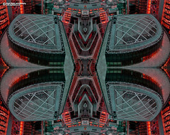 Mirror merge Kaleidoscope (Nigel Blake, 17 MILLION views! Many thanks!) Tags: london rooftops kaleidoscope nigelblakephotography nigelblake