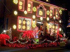 Christmas Decorations (dimaruss34) Tags: newyork brooklyn dmitriyfomenko image christmas christmasdecorations dykerheights lights