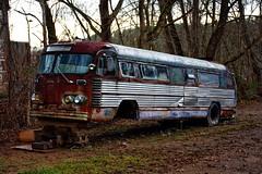 Old Bus (Rusty4344) Tags: old outdoors outdoor bus nikon northcarolina