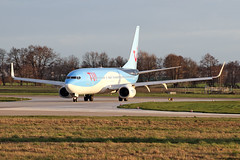 Boeing 737-8K5(WL) - D-AHFV - HAJ - 19.03.2019(2) (Matthias Schichta) Tags: haj hannoverlangenhagen eddv planespotting flugzeugbilder tuifly boeing b737800 dahfv