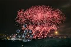 2019 Starts! (Jacques de Selliers (ON/OFF)) Tags: atomium atomiumfireworks fireworks january1st newyear 2019 newyearseve night deselliers jacquesdeselliers brussels belgium bruxelles belgique brussel belgië