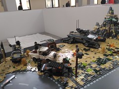 Lego Military Diorama Chieti Model Touring 2018 (16) (Parm Brick) Tags: lego afol bricks chieti model touring 2018 military army tanks vehicle aircraft weapons custom