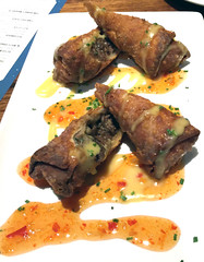 Beef Spring Rolls (Bill in DC) Tags: food dining restaurants 2016 md maryland northbethesda delfriscogrill