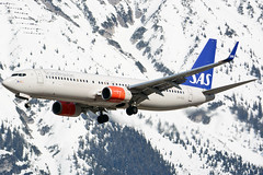 LN-RGD (toptag) Tags: boeing73786n lnrgd inn lowi innsbruck boeing sas tirol aviation austria snow mountains winter
