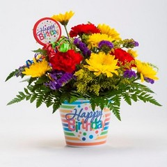 21 Common Mistakes Everyone Makes In Flower Ideas For Birthdays   flower ideas for birthdays (franklin_randy) Tags: birthday flowers flower arrangement ideas for party cake birthdays centerpiece decoration 50th 80th
