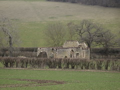 In a Quiet VAlley (cycle.nut66) Tags: st james church bix bottom valley chilterns chiltern hills ruin stone arches flint walls trees grass olympus epl1 evolt micro four thirds mzuiko