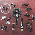 自転車コンポーネントの写真