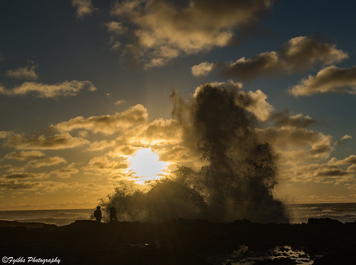Thor's Well and Cape Perpetua