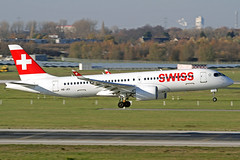 Swiss International Air Lines Bombardier CSeries CS300 HB-JCI DUS 18-11-18 (Axel J.) Tags: swissinternationalairlines bombardier cseries cs300 hbjci dus duesseldorf lohhausen luftfahrt fluggesellschaft flughafen flugplatz aircraft aeroplane aviation airline airport airfield 飞机 vliegtuig 飛機 飛行機 비행기 авиация самолет תְעוּפָה hàngkhông avion luchtvaart luchthaven avião aeropuerto aviación aviação aviones jet linienflugzeug vorfeld apron taxiway rollweg runway startbahn landebahn outdoor planespotter planespotting spotter spotting fracht freight cargo