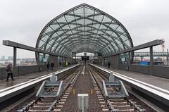 U-Bahn Station Elbbrücken (schmidtvossloch) Tags: ubahnhof elbe elbbrücken hafencity hamburg nikon